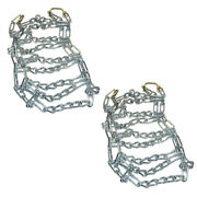 2 Link Tire Chains And Tensioners 20x10x8 Fits John Deere Lawn Mower Tractor Rider