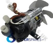 23377 Brema Water Pump Motor For Ice Machine C/w Cooling Fan 230v Spares And Parts