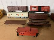 Lot Of 7 Antique Vintage Trains Nh And More Parts Or Repairs