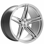 4ea 20 Stance Wheels Sf08 Brushed Silver Rims S6