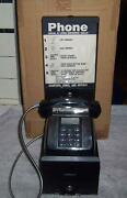 Vintage Hotel Lobby Pay Phone / Telephone Payphone Public Coin Operated Desk