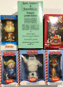 Christmas Holiday Figures Bobbleheads Music Boxes Coca Cola Looney Tunes