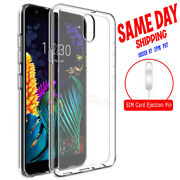 High Grade Slim Soft Tpu Case + Sim Card Pin For Tracfone Lg Journey Lte L322dl