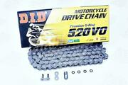 Did 520 X 106 Links Vo Series Oring Sealed Natural Drive Chain