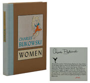 Women Charles Bukowski Signed Limited First Edition 1978 1st Black Sparrow