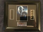 Lotr Return Of The King Double Series 2 Original Film Cell Gollum Pre-production