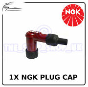 1x Ngk Red Spark Plug Cap To Fit Cagiva Wmx250 1984-1989 Ht Spc11na50