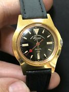 Military West End Watch Co Prima Rose Gold P Mechanical Movement Ss Watches R7