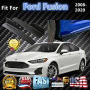 Fits Ford Fusion 2008-2020 Black Side Skirts Splitter Spoiler Diffuser Wings