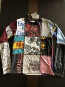 Number Nine Long Sleeve T-shirt Vintage Mickey Size 3 Very Rare From Japan