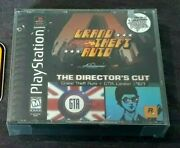 Grand Theft Auto Director's Cut Sony Playstation 1, 1999 Sealed New Game