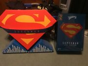 Hot Toys Superman Reeve Evil Sideshow Exclusive New