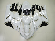 Fit For 2005 2006 Zx6r 636 Pearl White Abs Plastic Injection Mold Fairing Kit