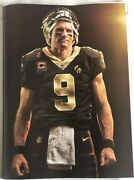 Nfl Drew Brees 7 Sports Illustrated Magazines N.o Saints Rare Collectibles 12/18