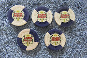 5-vintage Golden Nugget Very Rare 1.00 Casino Chips On Sale Now