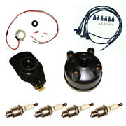 Electronic Ignition Kit 12v Fits Ford 8n Tractor Side Mount Distributor 263844 +
