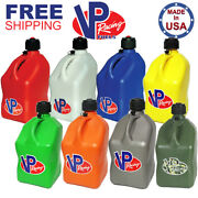 Vp Racing Fuel Jugs Square 5 Gallon Specify Color And Hose Gas Can