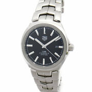 Tag Heuer Link Caliber 5 Wbc2110.ba0603 Men's Size Automatic Winding [a1224]