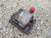 Farmall Ih 460 Tractor Ih Hydraulic Pump Assembly And Gear And Cover Panel