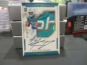 National Treasures Rookie Rpa Autograph Jersey Dolphins Kenyan Drake 04/10 2016