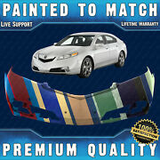 New Painted To Match Front Bumper Cover Fascia For 2012 2013 2014 Acura Tl Sedan