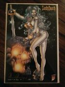 Lady Death Icon1 Sly Ed. Philip Xavier Signed B. Pulido Ltd To 88