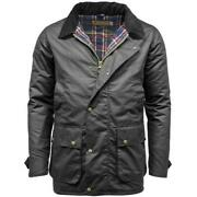 Game Winchester Antique Wax Jacket Black Menand039s