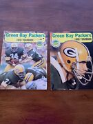 Green Bay Packers Yearbook 1979 And 1980- Lot Of 2 Football Books Vintage