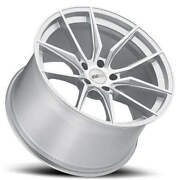 4ea 18/19 Staggered Cray Wheels Spider Silver Rims Fit Corvette S3