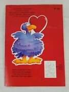 Vintage 1980and039s Carlton Cute Valentineand039s Day Punch Out Cards Book W/ Care Bears