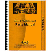 New Parts Manual Fits Allis Chalmers 616 Lawn And Garden Tractors