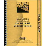Operators Manual Fits Case 446 Lawn And Garden Tractor Sn 14096200 And Up