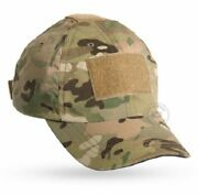 Crye Precision Shooterand039s Ball Cap W/ Hook And Loop Panels - Multicam