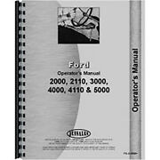 Operators Manual Fits Ford 5000 Tractor