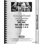 Tractor Service Manual Chassis Only For International Harvester 685