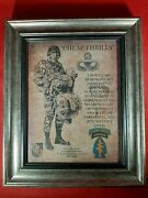 Mc-better Army Airborne Cheap Thrills All Units Framed Personalized