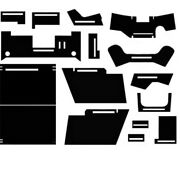 Cr7020 New Cab Upholstery Kit W/ Headliner Fits John Deere Tractor 7020 And 7520