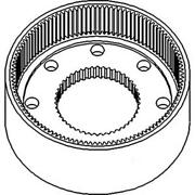83954879 New Planetary Ring Gear Fits Ford / Fits New Holland Tractor