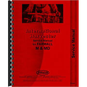 I-6 Tractor Service Manual For Farmall M Md For International Harvester
