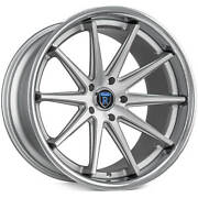 4ea 20 Staggered Rohana Wheels Rc10 Machined Silver Rims S8