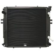 16410u220071 New Radiator W/ Copper Core And Plastic Tanks For Toyota Fork Lift +