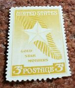 Us 3 Cent 1948 Gold Star Mothers Postage Stamp Mnh