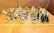 X 20 Liberty Falls Collectible Houses No Boxes Sold As Seen W/ Trees N Scale