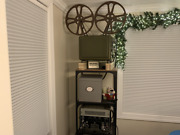 Complete Working Wwii Jan Military 16mm Projector Set Ph-252a An-pfp-1 Am-424-a