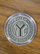 Limited Edition Phish Subway Token Pin Msg New Years Run 2019 2020 Only 500 Made