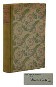 The Professorand039s House Willa Cather Signed Limited First Edition 1st 1925