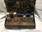 Rca Mi-4255a Power Amplifier 845 Tube Early 1930's Movie Western Electric 43
