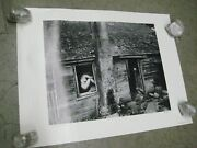 Woman And Thistle Poster Vintage 1979 Black And White Wynn Bullock Thick Stock C55