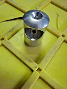 Hand Rail End Base Deck Mount For 1inch Od Pipe Alum  1 3/8od X 2h