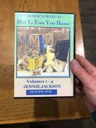 The Horseand039s Manual How To Train Your Human By Jennie Jackson Dvd Volumes 1-4